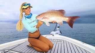 BIG STORM ENDANGERS FLORIDA OFFSHORE FISHING ft. PB Mangrove Snapper!