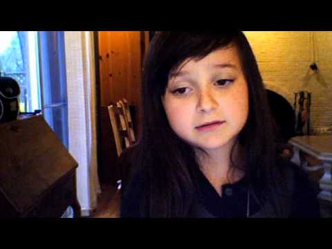 cute girl singing forget you