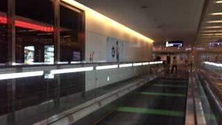 Moving Walk Way at Tokyo Haneda Airport