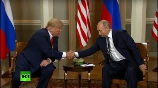 Trump-Putin summit in Helsinki: Talks & protest (MIX FEED)
