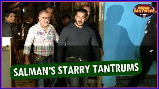Salman Khan Throws Starry Tantrums On The Sets Of 'Race 3' | Bollywood News