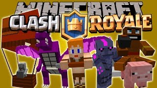 CLASH OF MOBS MOD - Clash Of clan/Royal en Minecraft - Minecraft mod 1.8 Review ESPAÑOL