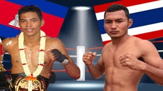 Lao Chantrea vs Wifi lukmoeungpeth(thai), Khmer Boxing Bayon 26 May 2017, Kun Khmer vs Muay Thai