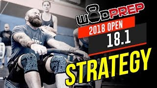 CrossFit® Open 18.1 WOD Strategy & Tips - WODprep OFFICIAL