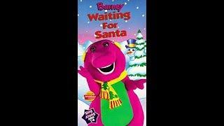 Barney: Waiting for Santa 1996 VHS
