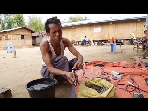 Xxx Mp4 Myanmar Making A Living From Amber Polishing 3gp Sex