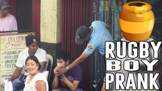 Rugby Boy Prank - Pinoy Public Pranks