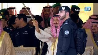 فاصل | العرضة.. خلال الحفل الختامي لمهرجان الملك عبدالعزيز للإبل