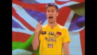 Russell Howard Ridicules the Racist EDL [feat Muslamic Rayguns]