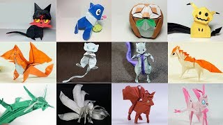 Top 50 Origami Pokemon 2017 (Henry Pham & Paper Ph2)
