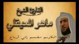 سورة آل عمران ربع  3  الجزء الرابع  وسارعوا إلي مغفرة من ربكم أيه 133