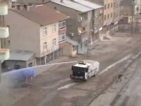 DTP kapatılmasından sonra yüksekova da olaylar durmuyor 13.12.2009 geverde gerginlik tırmanıyor