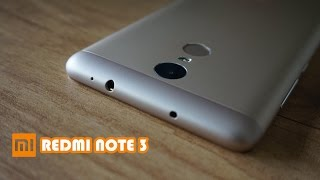 Hindi हिन्दी Xiaomi Redmi Note 3 3GB + 32GB Dark Grey Unboxing and Overview
