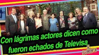En ventaneando actores rompen el silencio como fueron echados de Televisa.