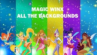 Winx Club | Magic Winx - All The Transformation Backgrounds! (6)