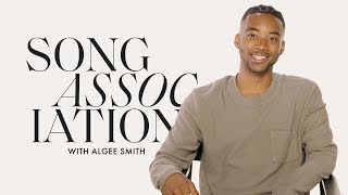 Euphoria Star Algee Smith Sings Beyoncé, Prince, and The-Dream in a Game of Song Association | ELLE