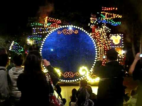 electrical parade in california adventure