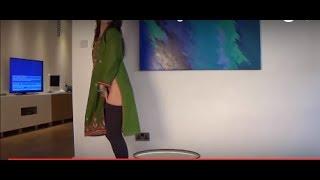 New Dance rehearsal backstage without shalwar, Pakistani indian girl mujra nanga dance2017 FULL HD