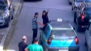 Crazy Woman vs Taxi (tanger)  (Raw Wwe)