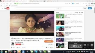 Fire Asho Na IMRAN Peya Bipasha  Bangla new song  2016 album Bolte bolte cholte cholte silent versio
