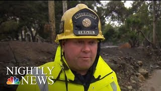 Thousands Of Californians Ordered To Evacuate Ahead Of Powerful Storm | NBC Nightly News