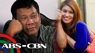 TV Patrol: Duterte, binatikos sa pagsipol sa babaeng reporter