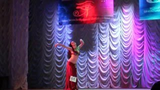 "Демидова Екатерина -  Raks Sharki - ""Звездное соло 2015"""
