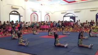 Lần đầu Suti thi aerobic 11/11/2016