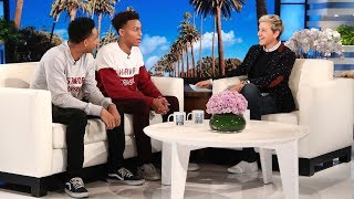 Ellen Meets Viral College Acceptance Brothers