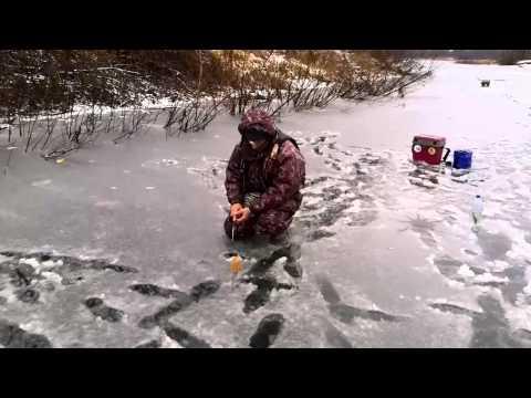 видеозимней рыбалки