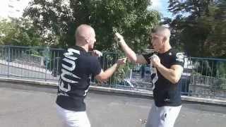 Download Street fight Filipino Kali escrima Knife and stick 3Gp Mp4