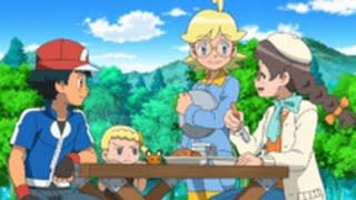 Review Pokemon XY&Z Ep. 21 Eng Dub Clemont, Bonnie & Lillia
