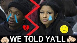 Nicki Minaj Confirms Meek Mill BREAK UP on 34th BDay weekend over Chanel Sandals on Instagram