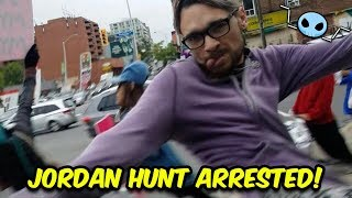 Jordan Hunt arrested for habitual assault on Pro-Lifers