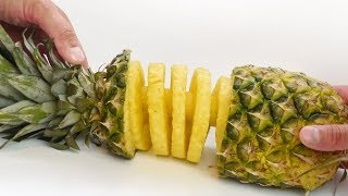 Pineapple Spiral -  Food Hack with Slicer Kitchen Gadget
