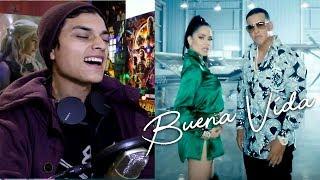 Natti Natasha & Daddy Yankee - Buena Vida (Video Oficial) La Piloto 2 Reaccion