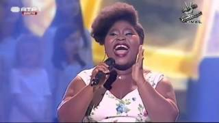 ▶   This Lady Sings LIKE Leona Lewis - A Moment Like This - Wow - The Vocie