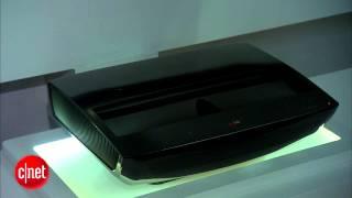 LG HECTO 100-inch laser projector