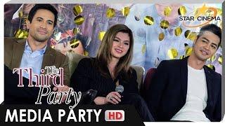 [FULL] Media Party | 'The Third Party' | Sam Milby, Zanjoe Marudo, and Angel Locsin