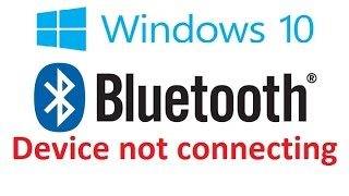 Bluetooth device not connecting windows 10/ 8 FIX - Howtosolveit