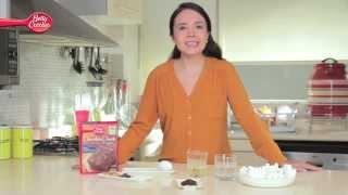 Cómo preparar S'mores Brownies con Betty Crocker