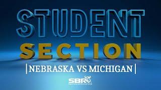 Nebraska vs Michigan | College Football Free Picks | The Student Section Clips