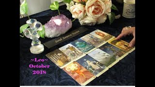~Leo~💗 A New Love that is Destined 💗 End of October 2018 Leo Tarot Reading 💗