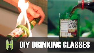 DIY Drinking Glasses from a Beer Bottle