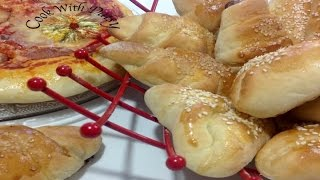 Tangzhong Stuffed Buns and Pizza