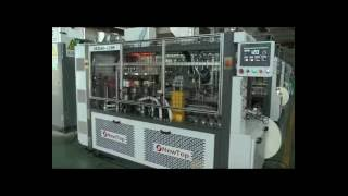 High speed paper cup machine NewTop energy saving paper cup machine