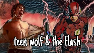 teen wolf and the flash crossover