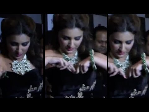 Parineeti Chopra Caught Adjusting Her Gown in Public Oops Moment!
