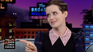 Claire Foy Teaches Method Man The Queen