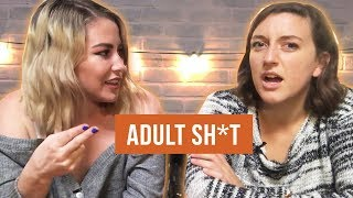 DIVA CUPS AND OTHER VAGINA STUFF // ADULT SH*T THE PODCAST - Episode 4